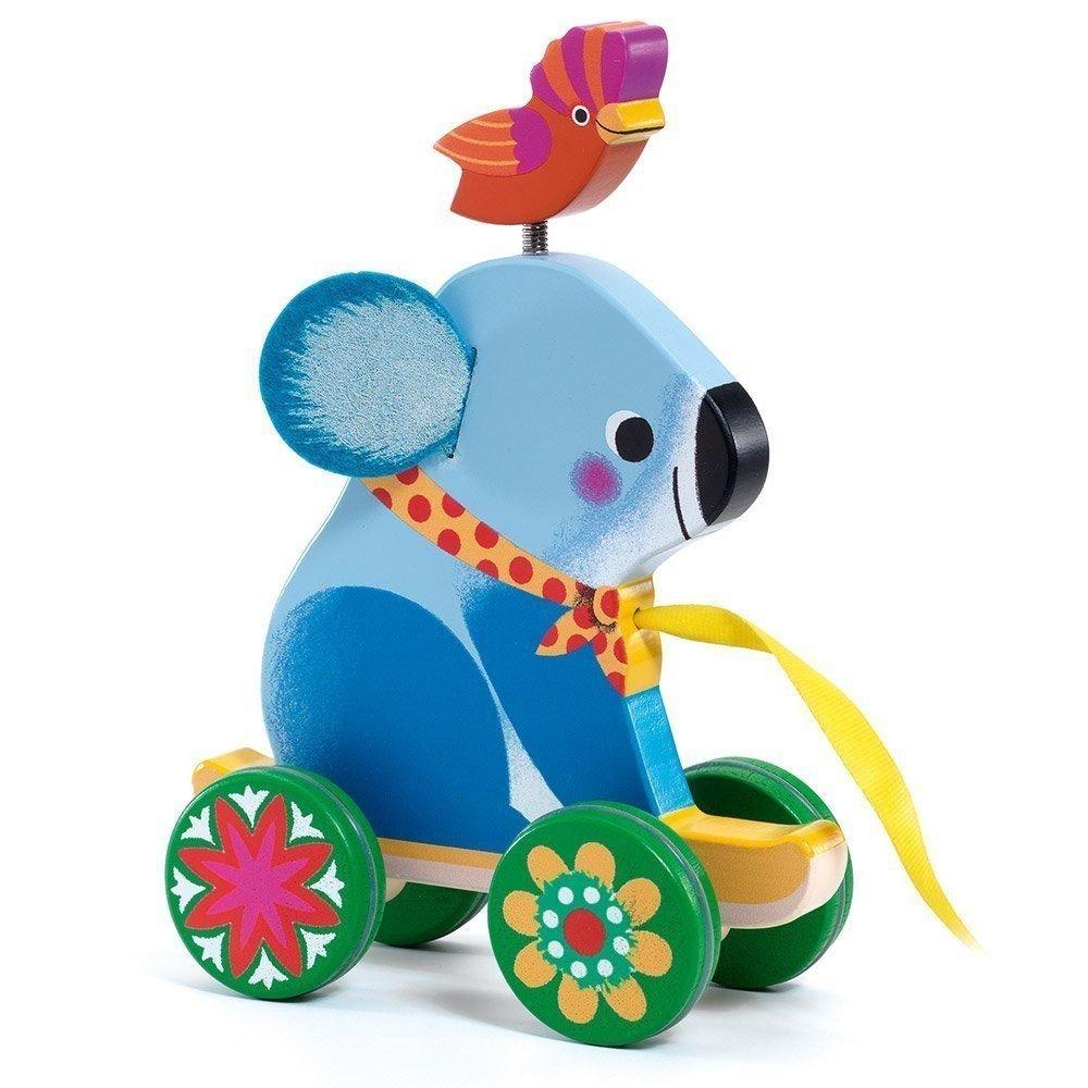 Otto Wooden Koala Pull Along Toy