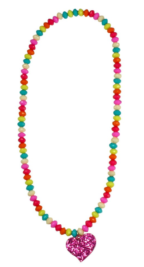Sparkle Spirited Heart Necklace