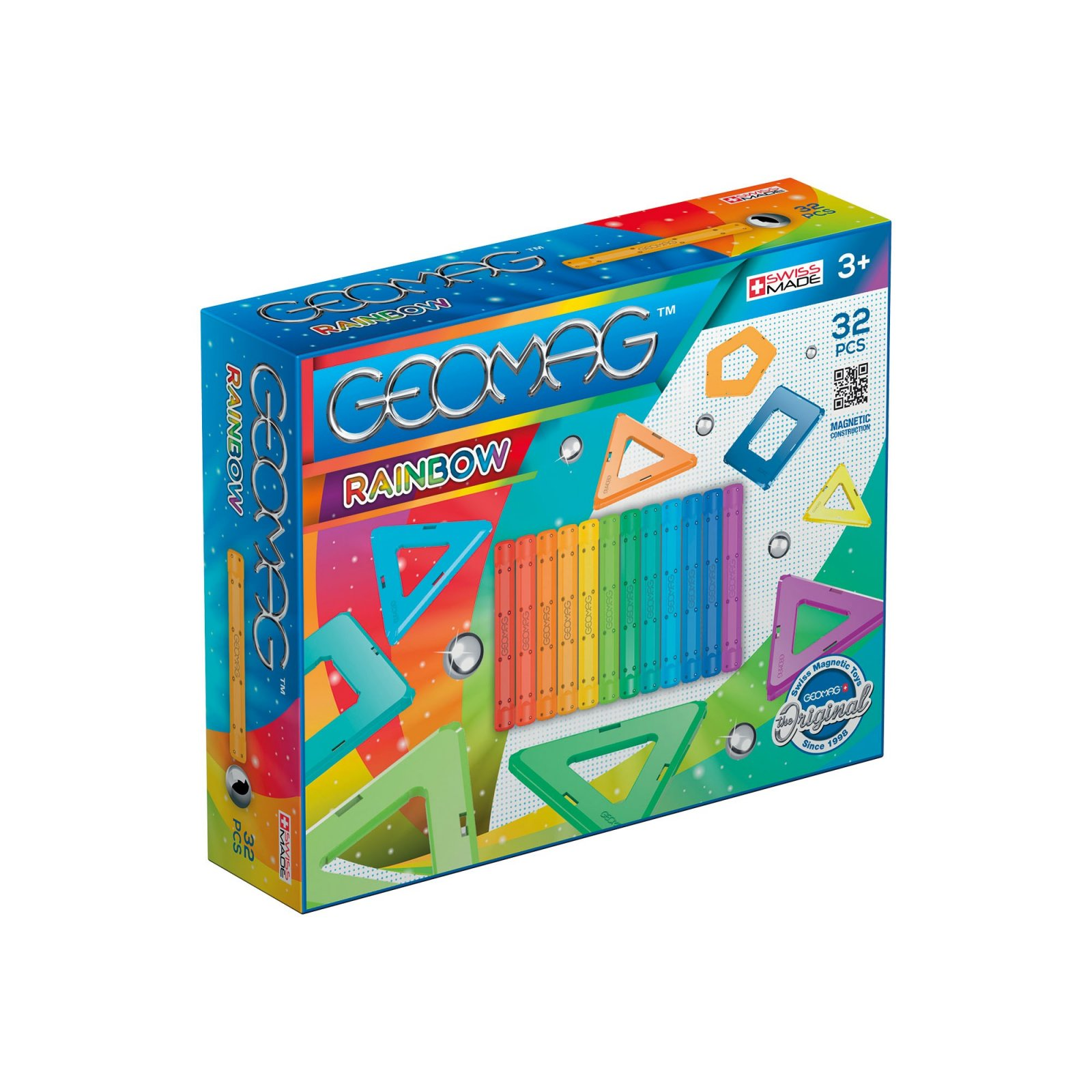 Geomag Rainbow Magnetic Building Set