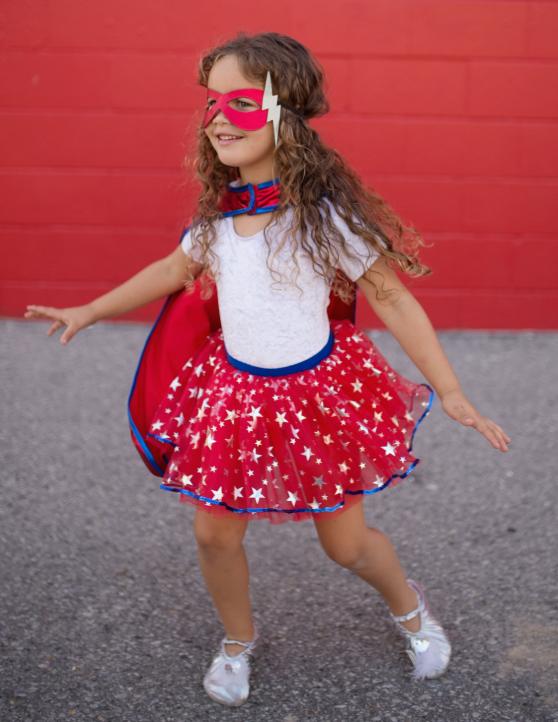 Superhero Tutu, Cape and Mask Set