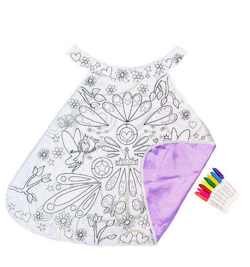 Color-A-Magical Fairy Cape