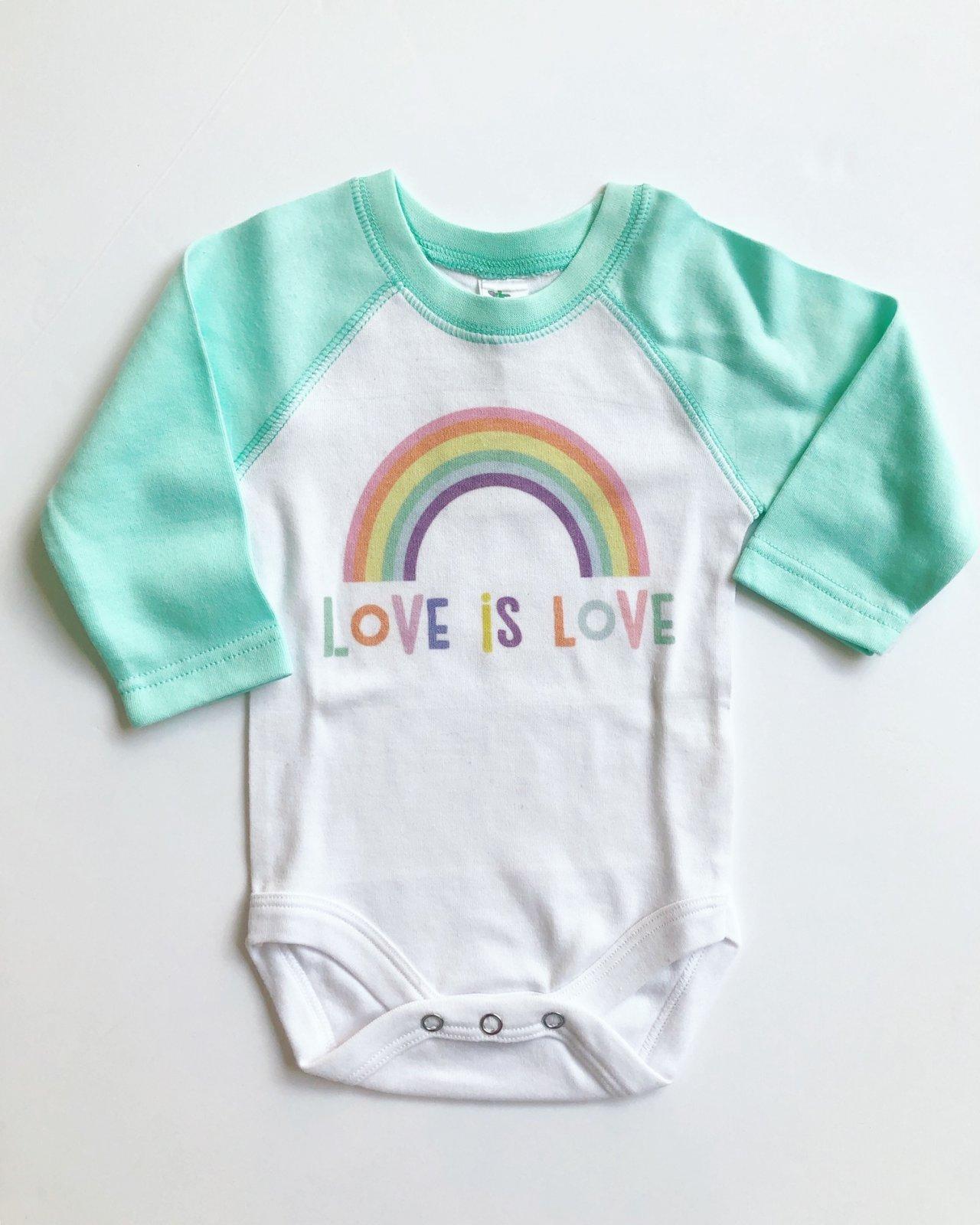 Love is Love Long Sleeve Onesie