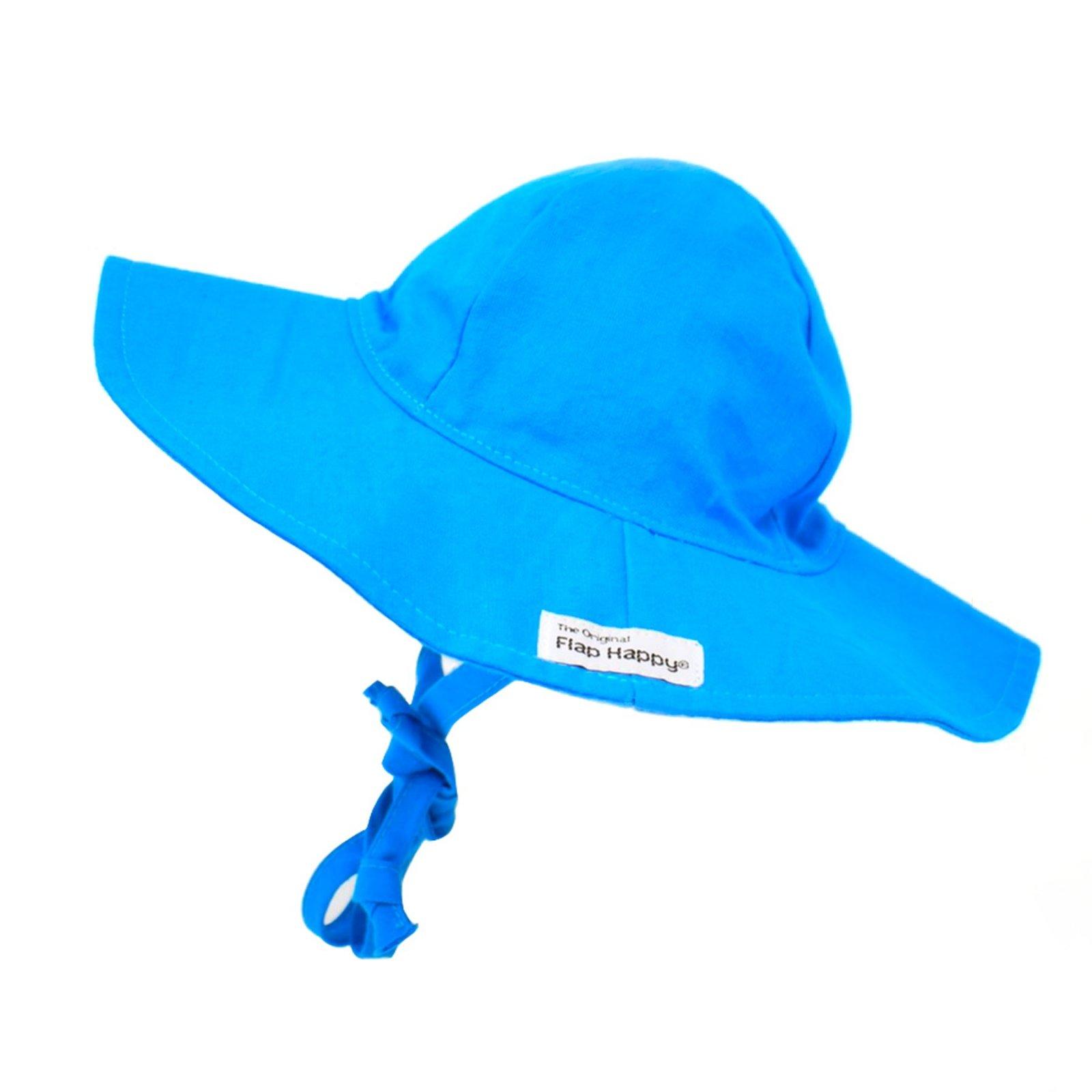 Pacific Blue UPF 50+ Cotton Floppy Hat