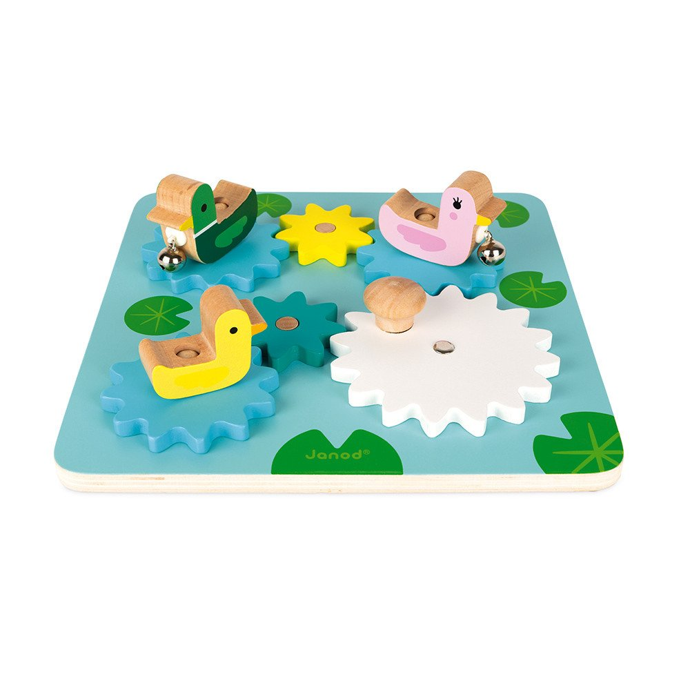 Gear Duck Pond Puzzle