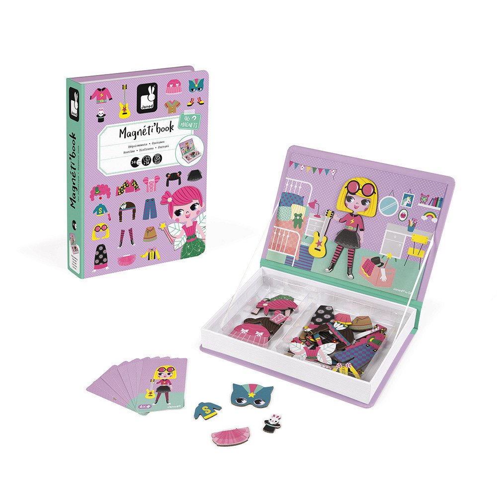 Girl's Costumes Magnetic Play Set