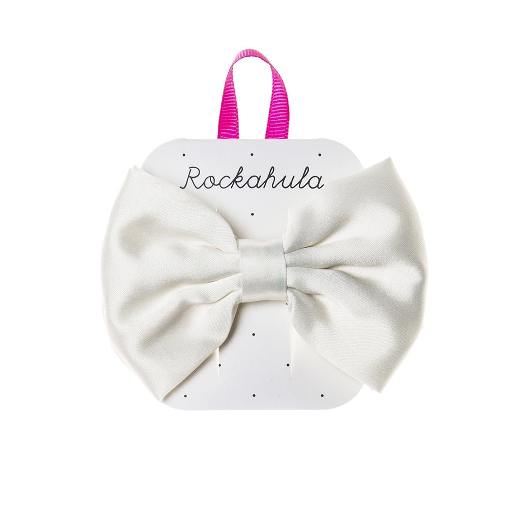Satin Luxe Double Bow