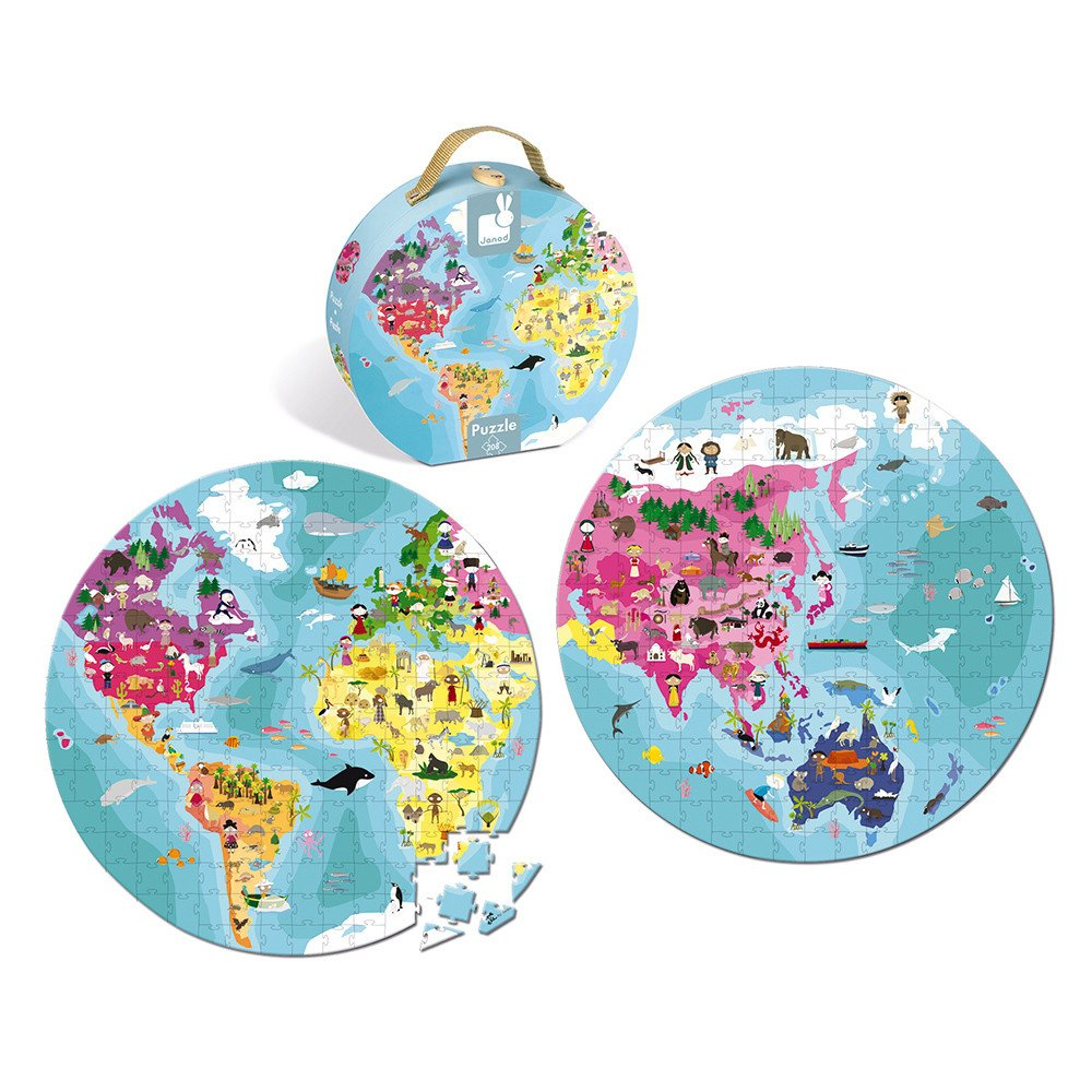 Blue Planet 208pc Double Sided Puzzle