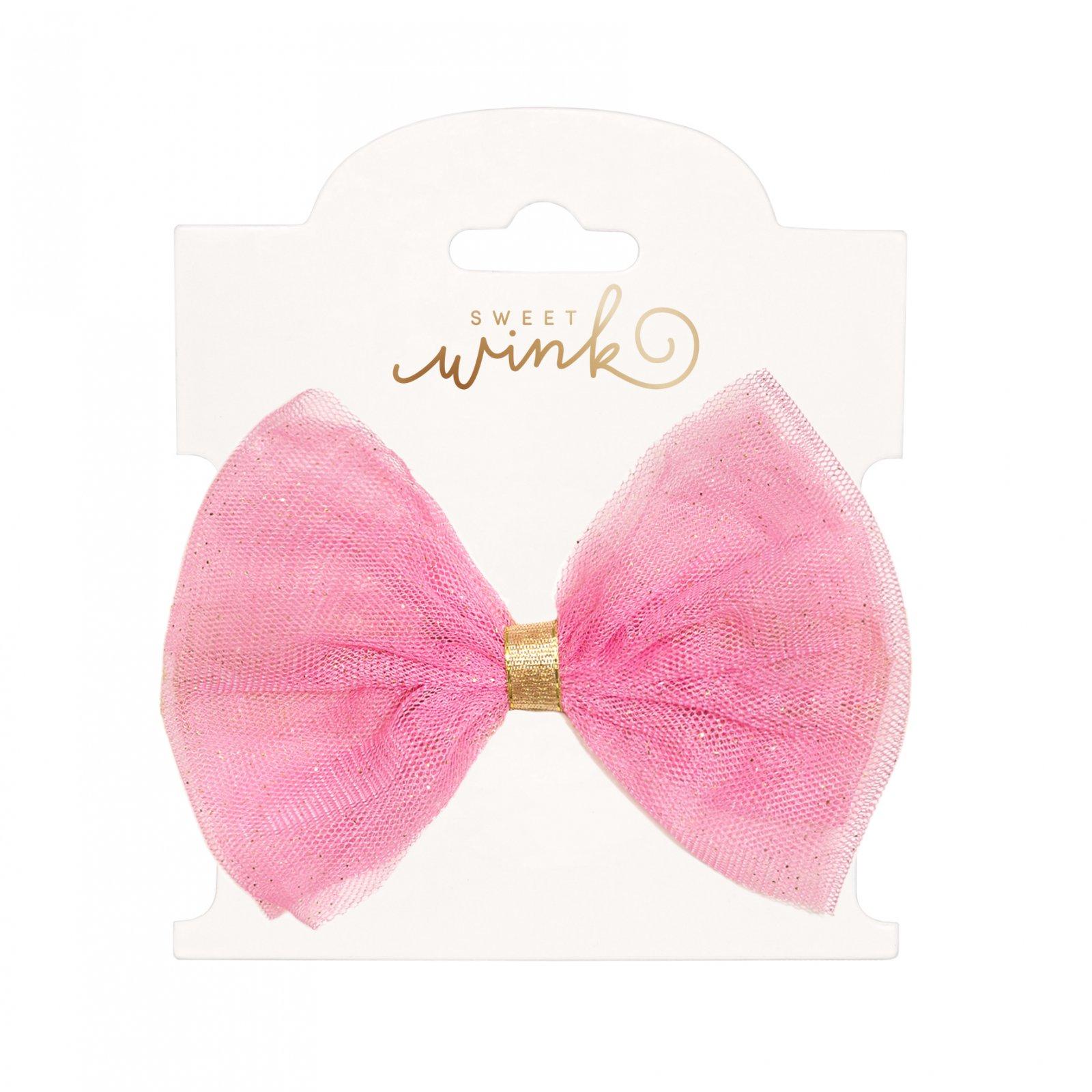 Bubblegum Bow Clip