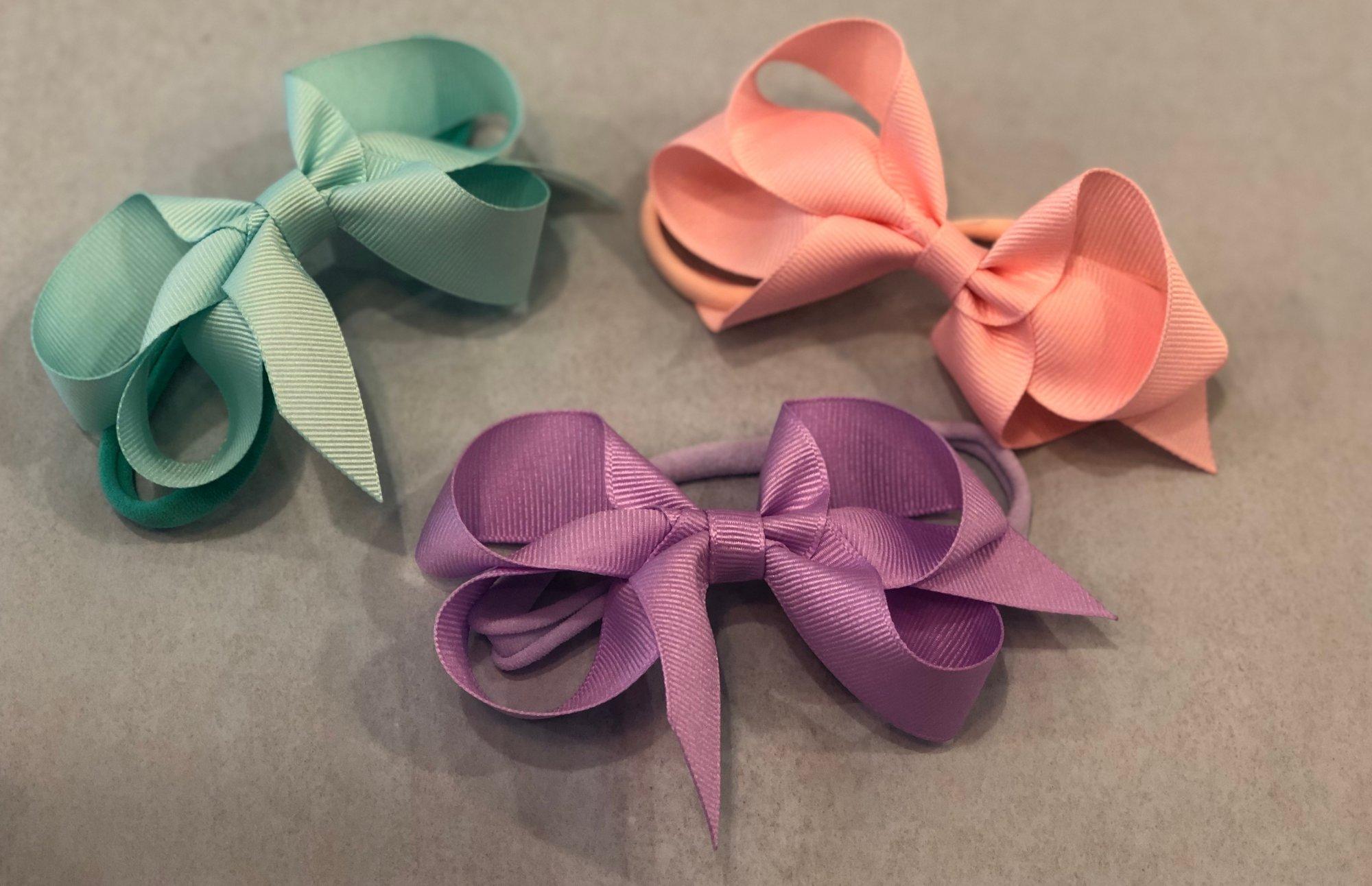 Small Grosgrain Bow Headband