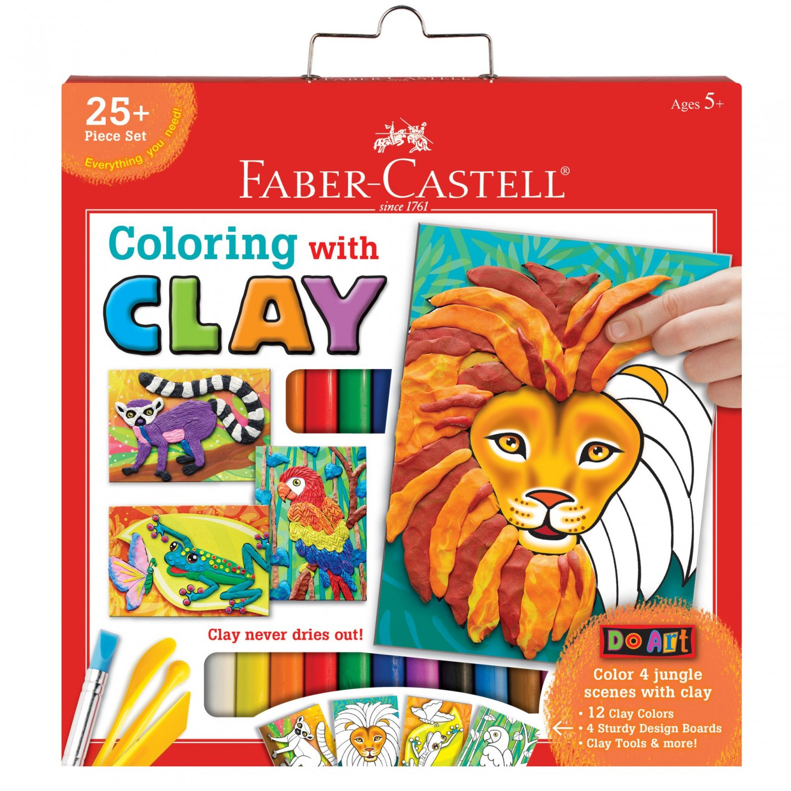Faber-Castell Coloring with Clay