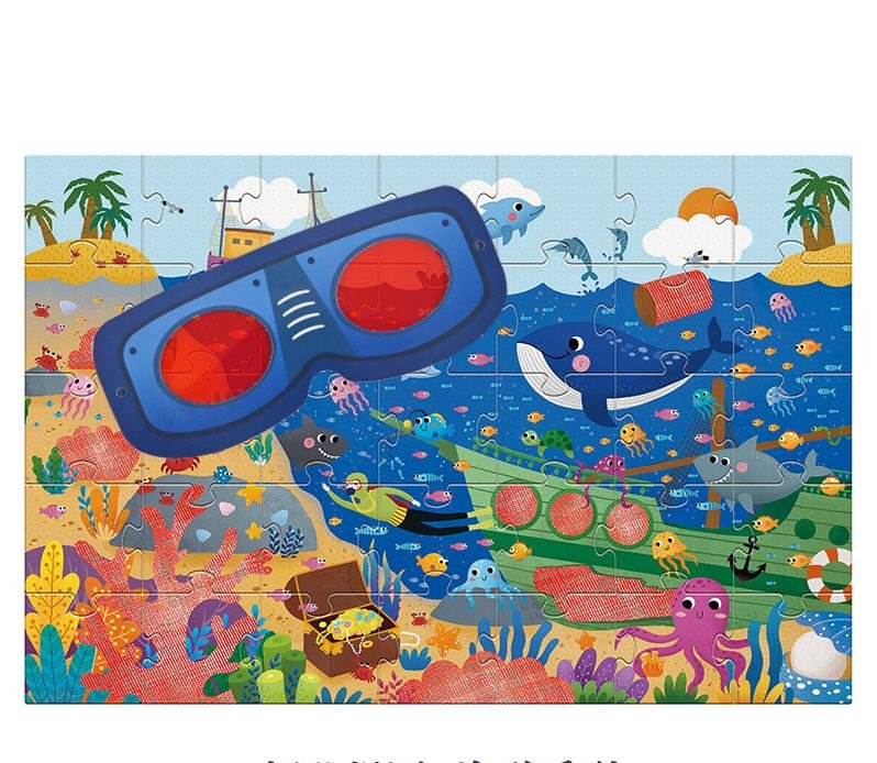 Secret Ocean 35pc Puzzle