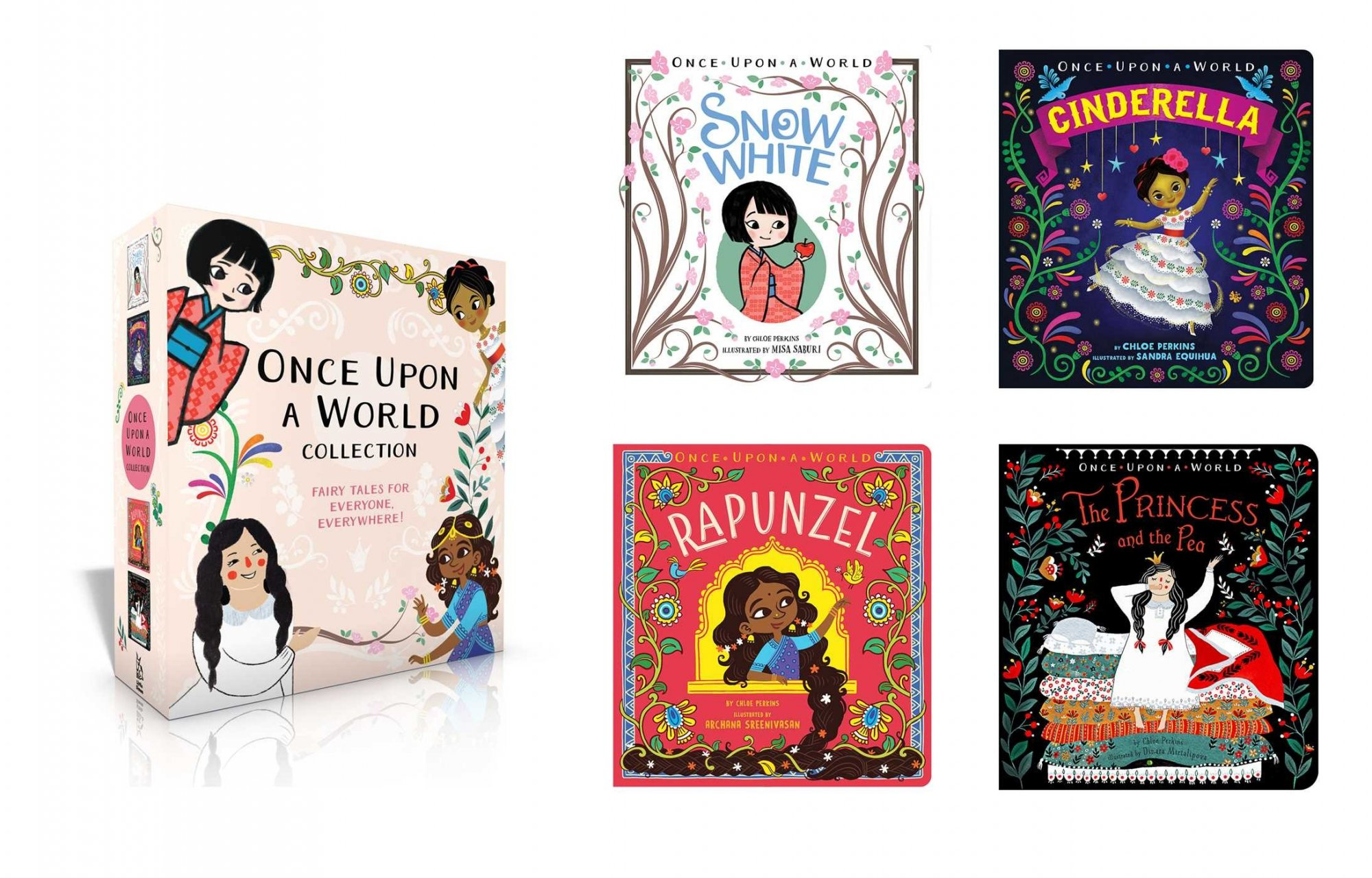 Once Upon a World Princess Box Collection