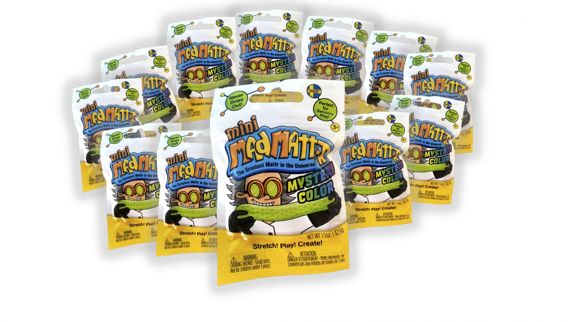 Mad Mattr Mini Mystery Color Pack