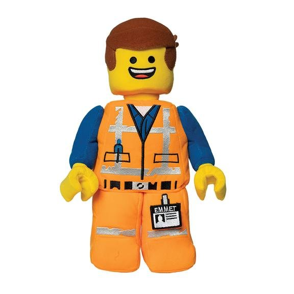 LEGO Emmet Mini Figure Plush
