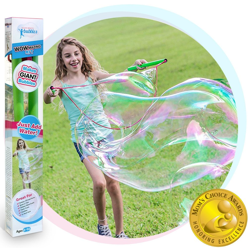 WOWmazing Big Bubble Wand and Concentrate Kit