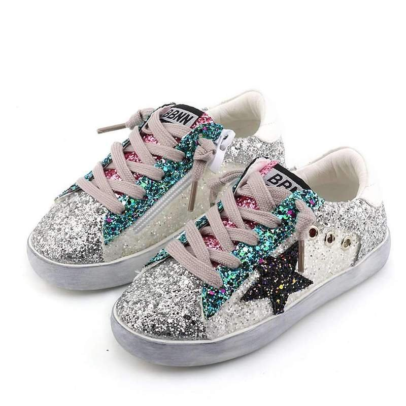 Star Glitter Sneakers