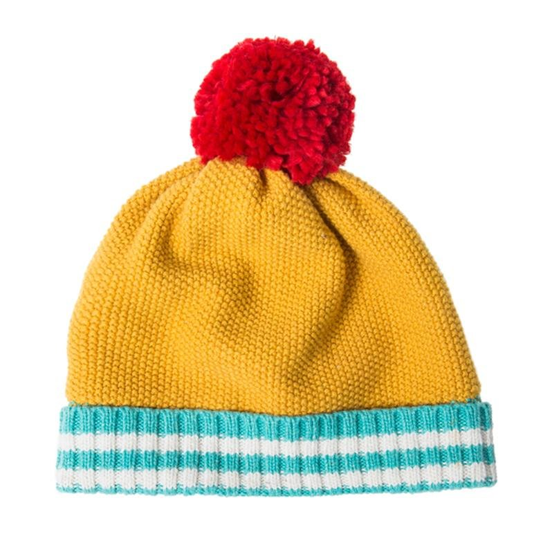 Popcorn Knit Hat