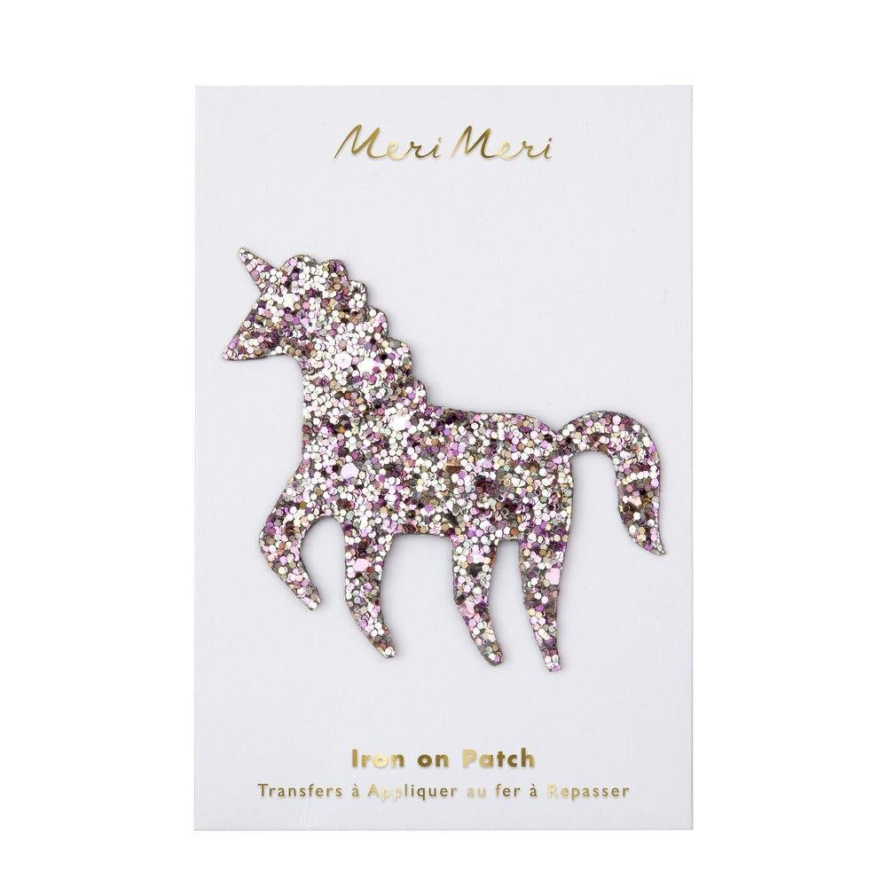 Glitter Unicorn Patch