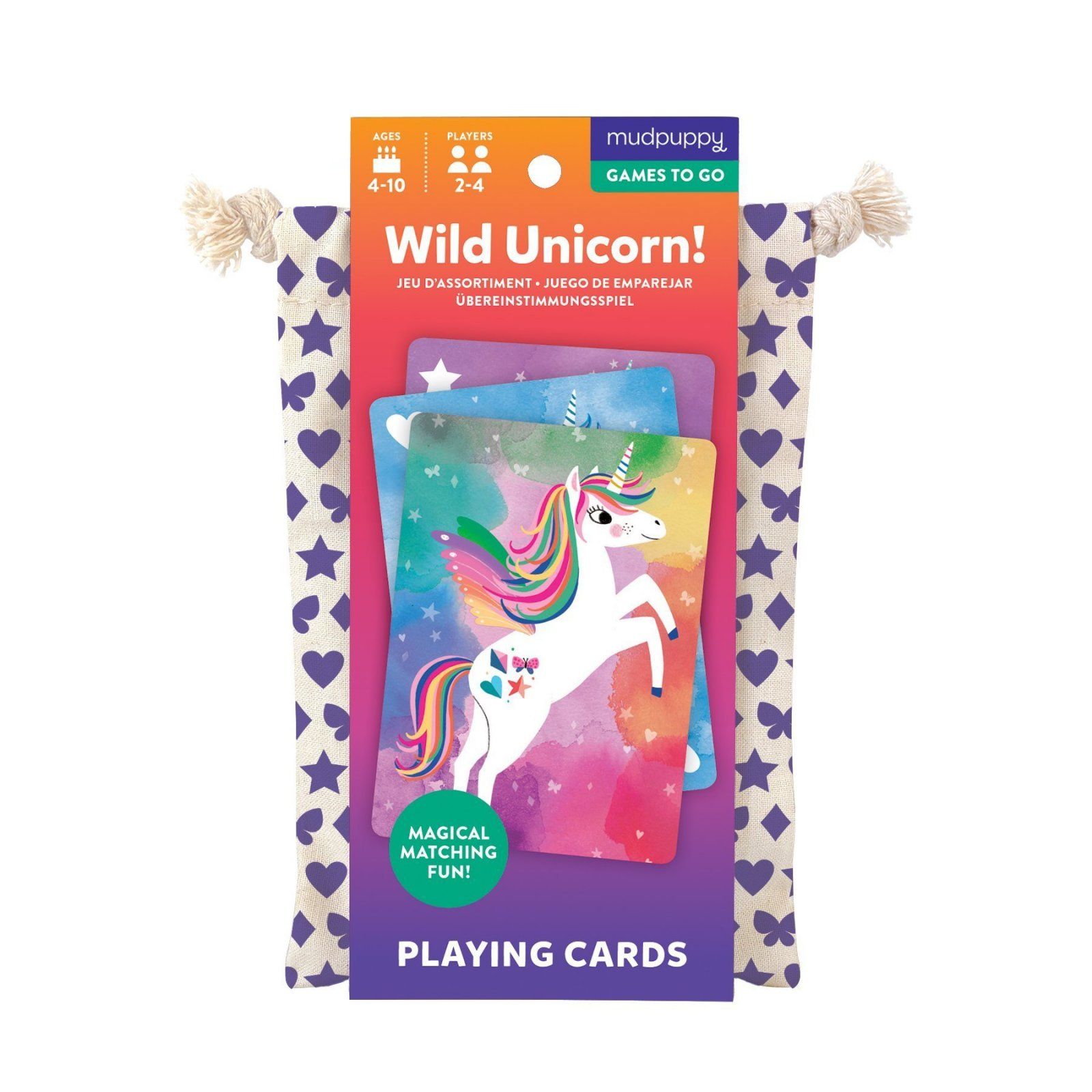 Wild Unicorn! Playing Card Game to Go