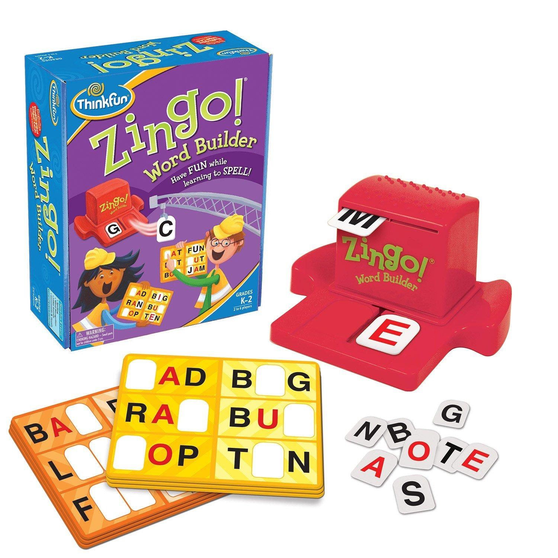 Zingo Word Builder