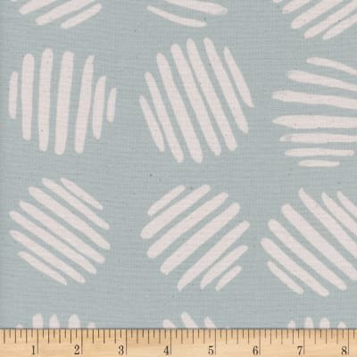 Coin Dots Unbleached Cotton