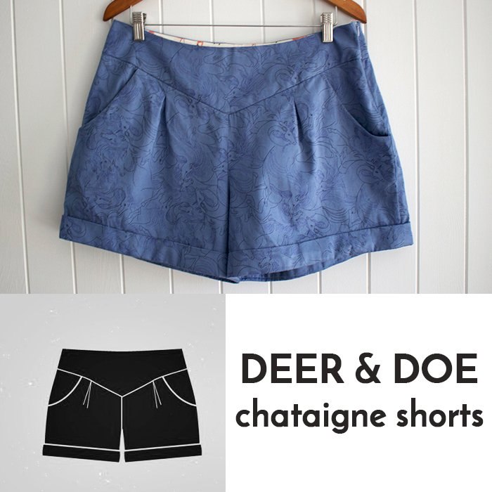 Chataigne shorts