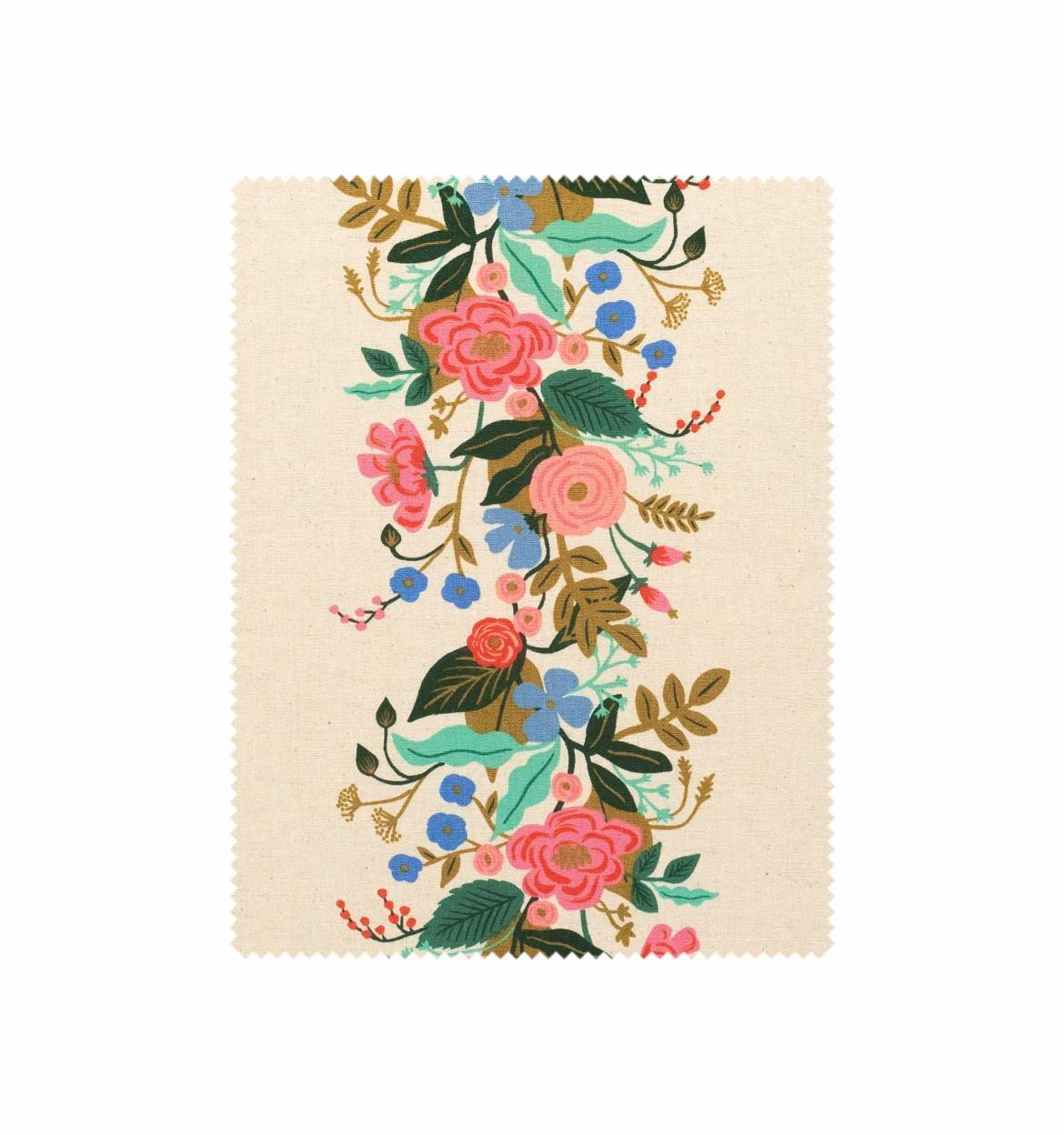 Floral Vines Cream CANVAS