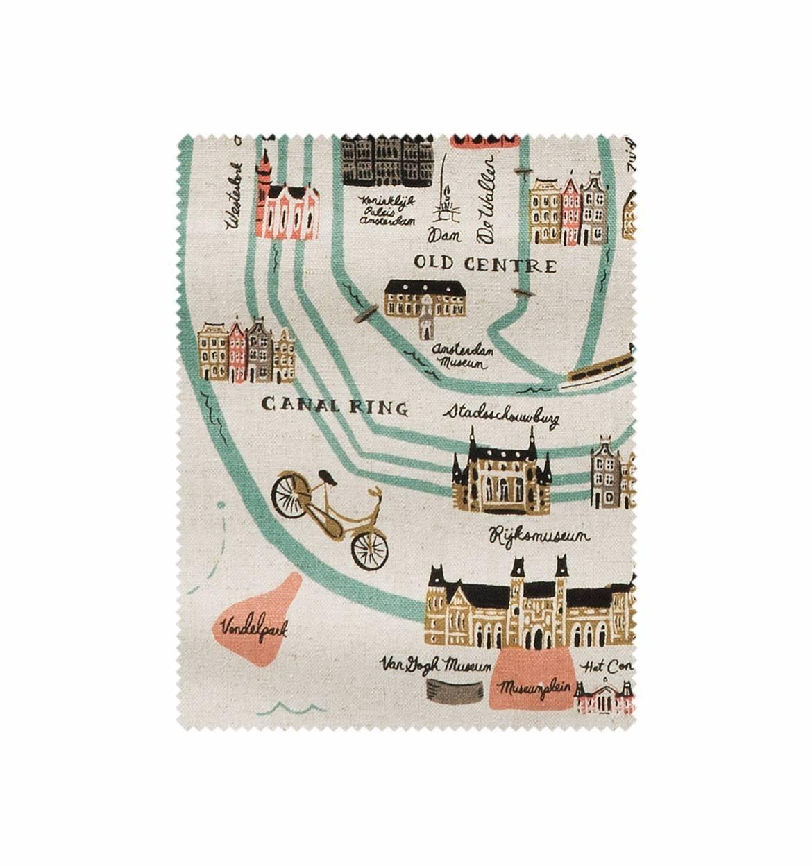 City Maps Canvas