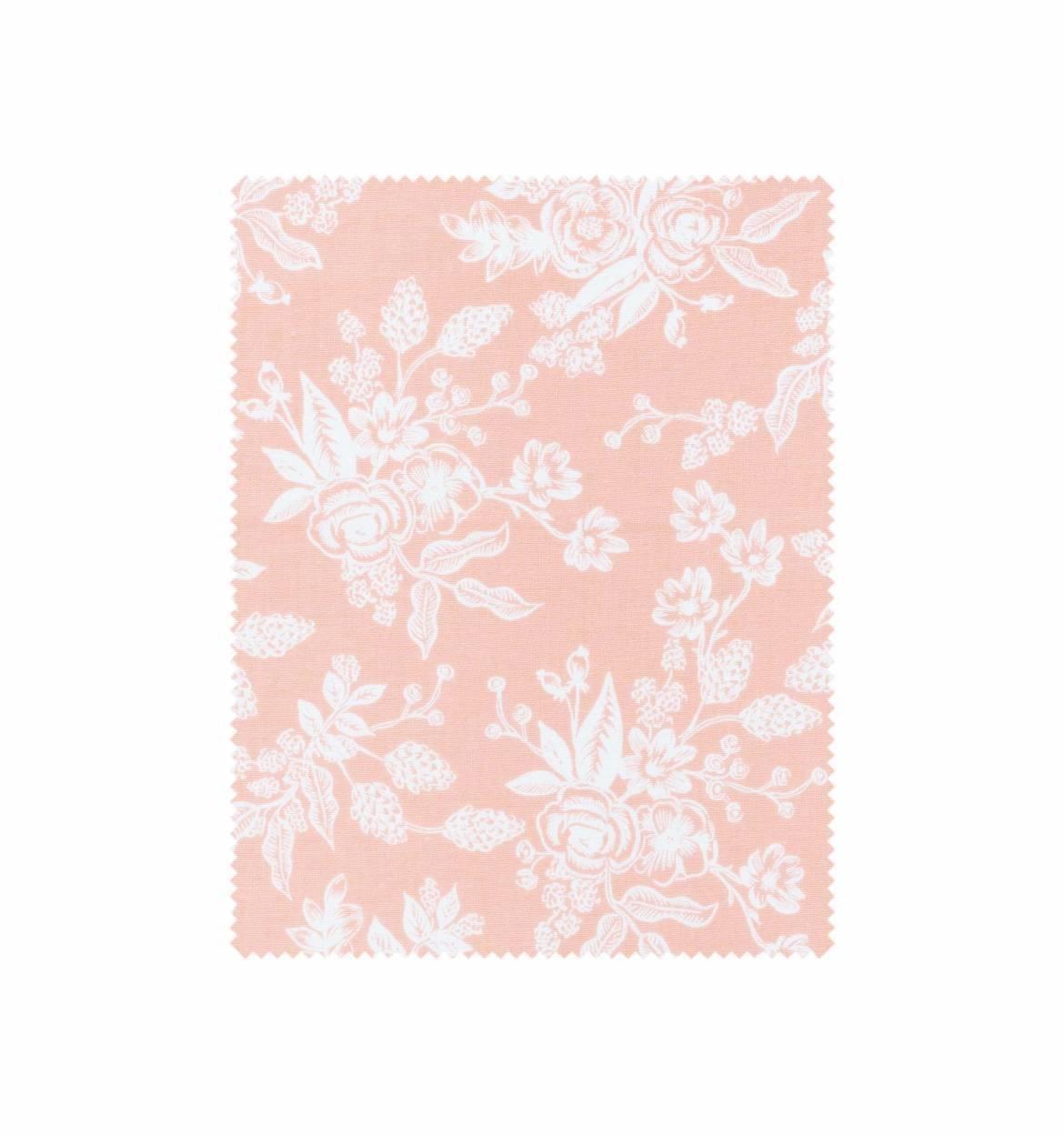 Floral Toile Peach