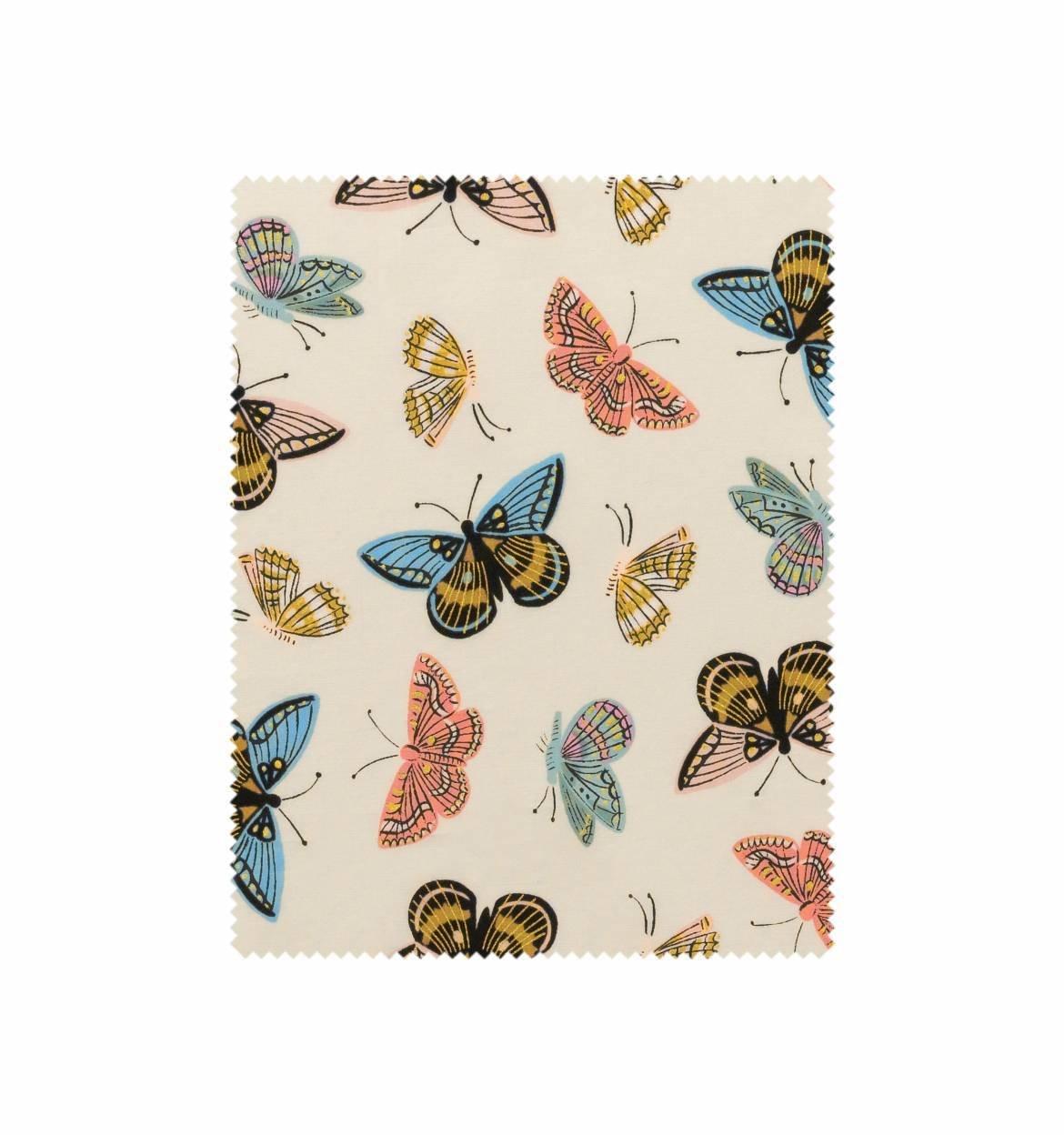 Monarch Cream Cotton Lawn