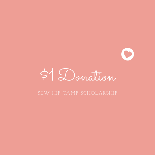 Sewing Camp Donation