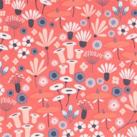 Pink Flowers Matte Laminate