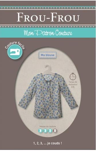 Frou Frou shirt pattern