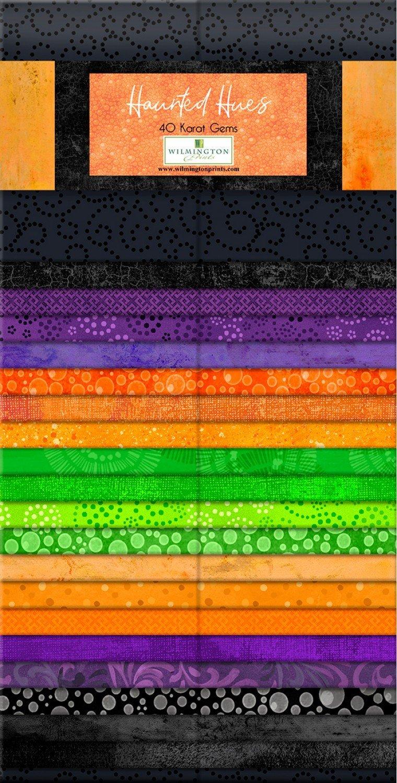 Essentials - Haunted Hues - 40 pieces Karat Crystals - 2 1/2 x wof Strips