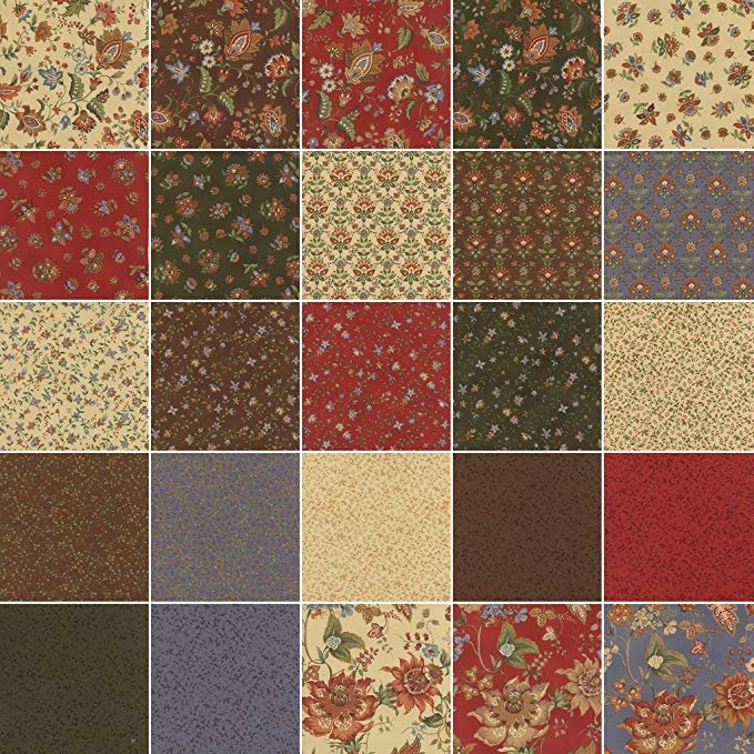 Celeste Fat Quarter Bundle 18x22 (25 pieces) - Sentimental Studios - Moda