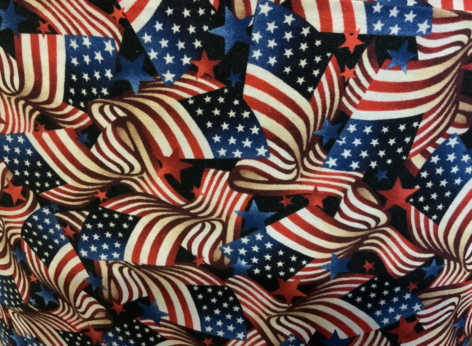 108 inch Starry Flag 5609-78 - Studio E Fabrics