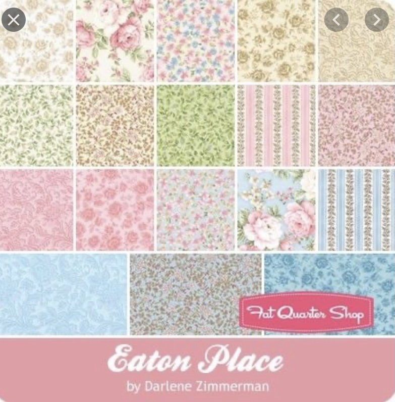 Eaton Place 5 inch squares (42 Pieces) - Darlene Zimmerman - Robert Kaufman Fabrics