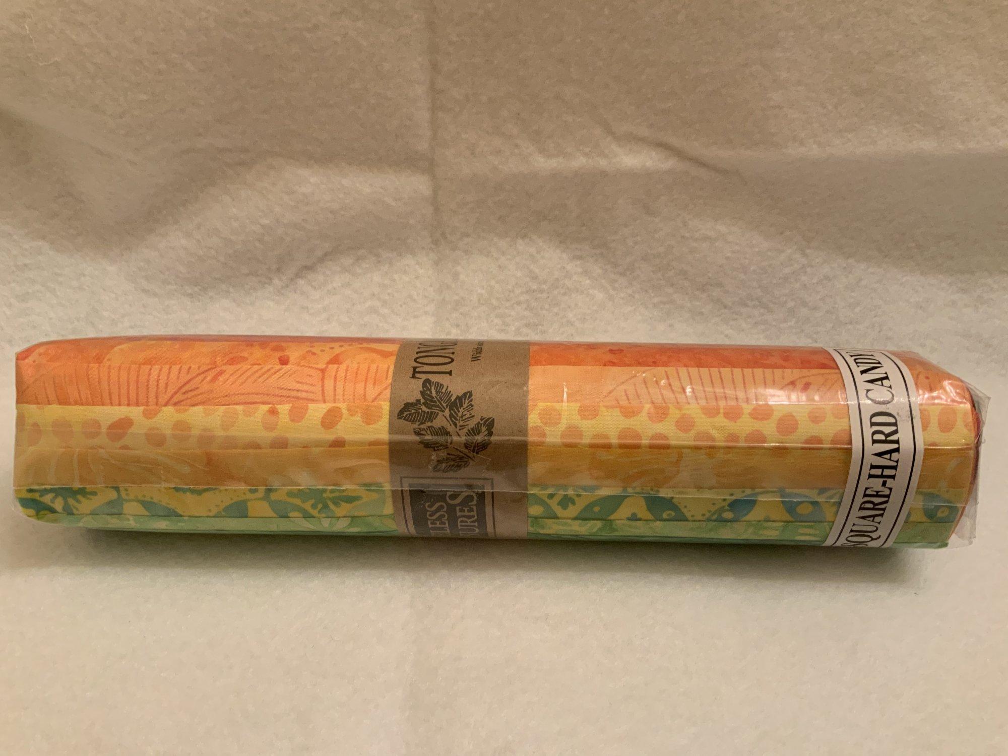 Tonga Treat Square Batik Hard Candy, (40 pcs 10x10)