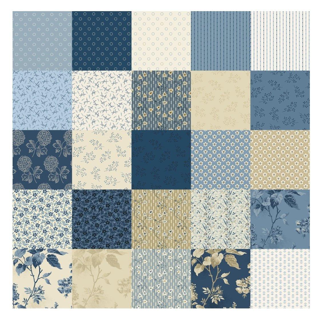 Blue Sky Fat Quarter Bundle (28 Pieces) - Edyta Sitar - Andover Fabrics