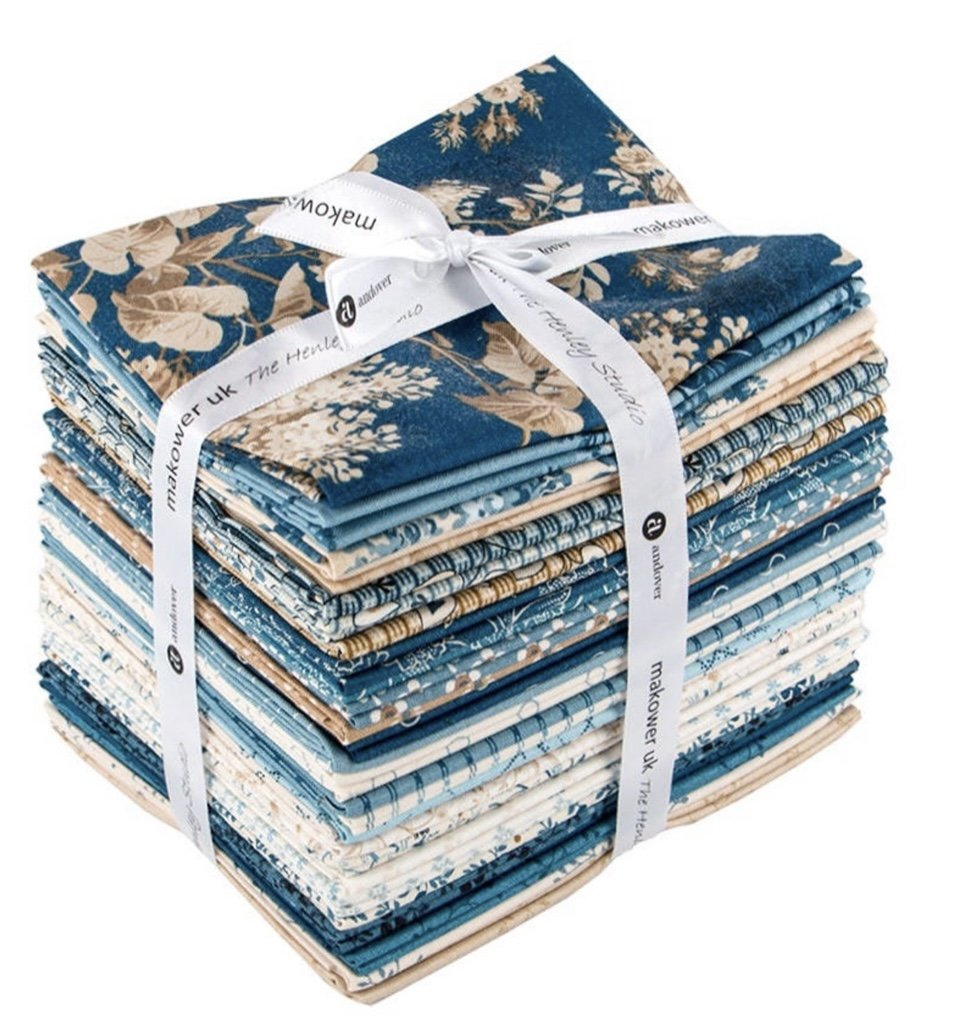 Blue Sky Fat Quarter Bundle (28 Pieces) - Edyta Sitar - Andover Fabrics