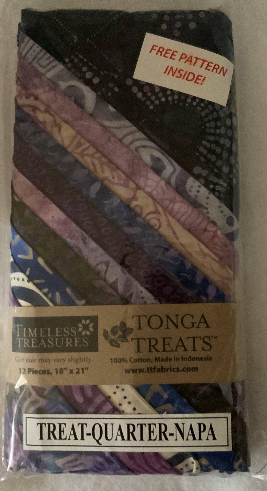 Tonga Treat Fat Quarters Napa (18in x 21in) 12pcs - Timeless Treasures