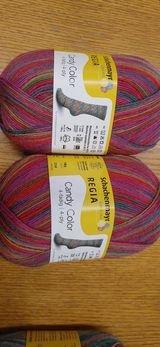 Regia Candy Color Sock Yarn  100 gr