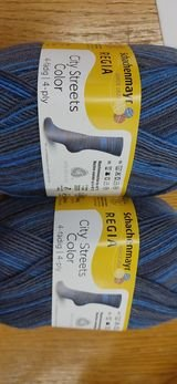 Regia City Streets Sock Yarn  100 gr