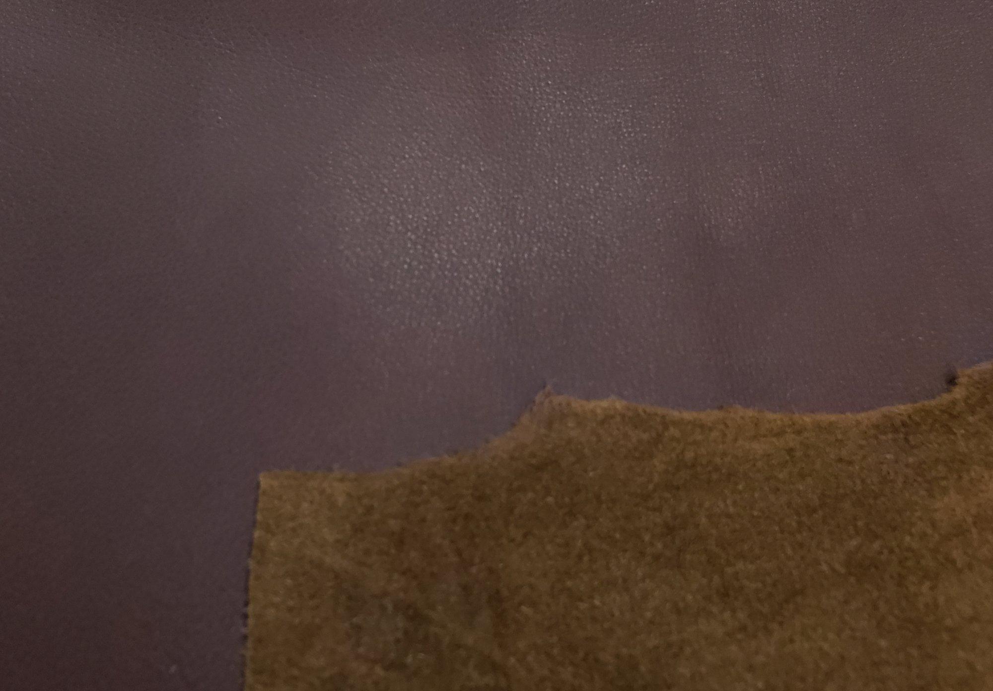 Cowhide Glove Tan Hazelnut - 24.50 sq.ft ($11.00/sq.ft)