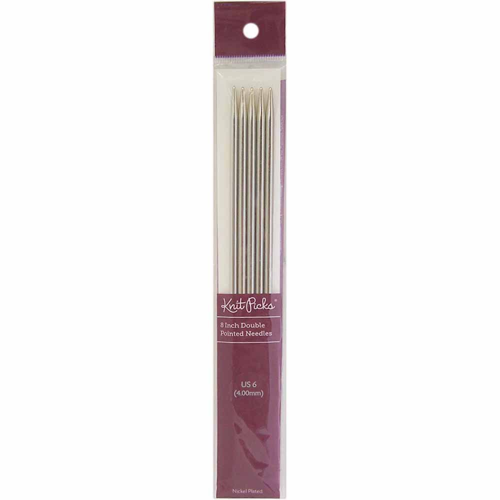 Knit Picks - Nickel - Double Point 6 - Size 2.75mm