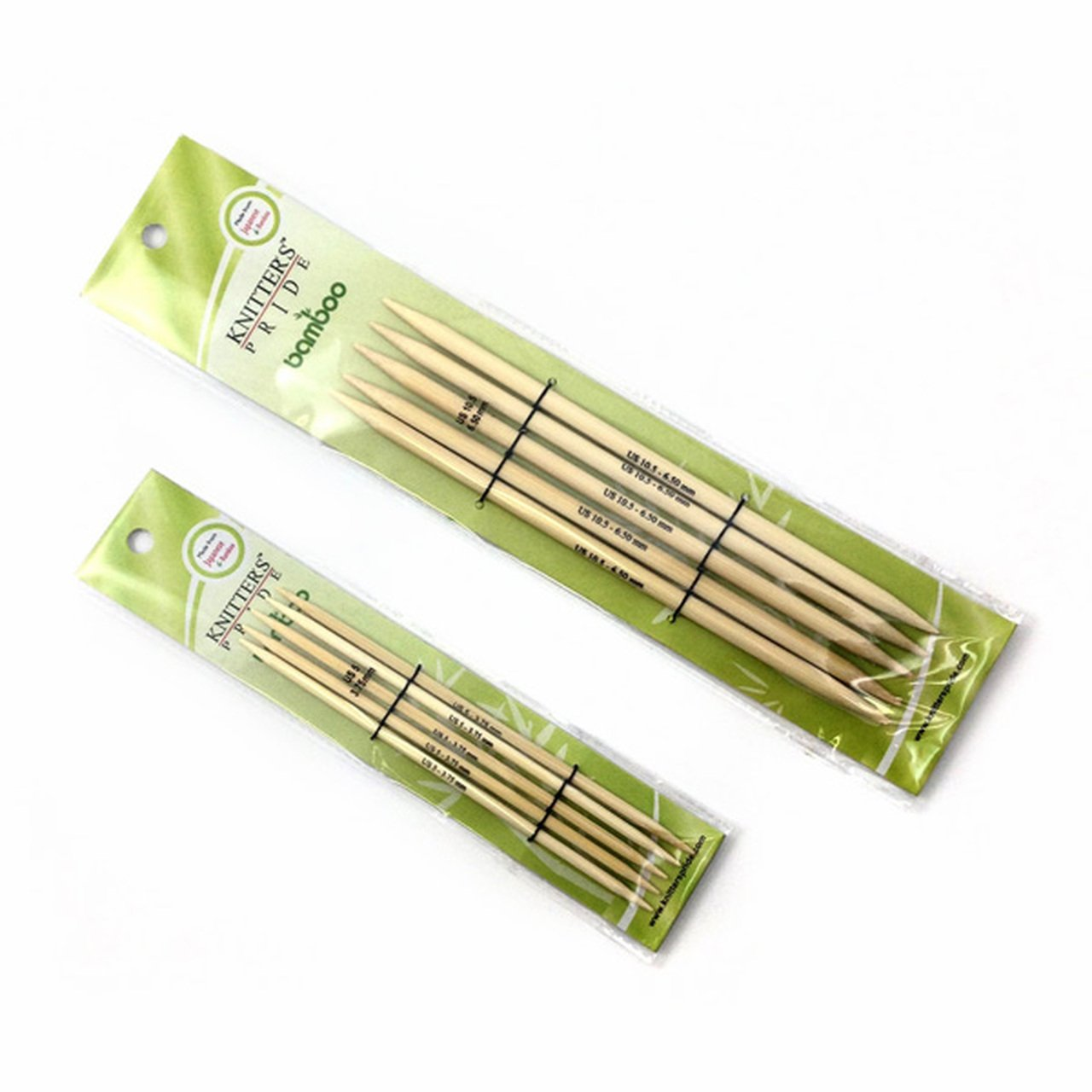 Knitter's Pride - Bamboo - 6 Double Points - Size 2.25mm