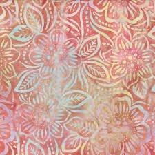 Dancing Flowers Batik - Pink - 358