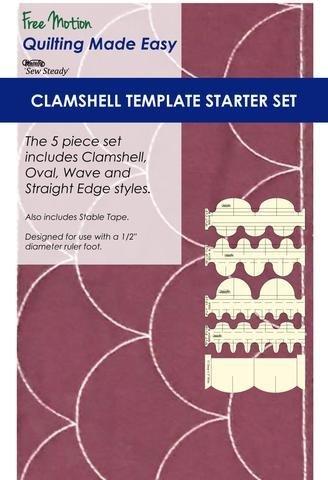 Clamshell Template Starter Set