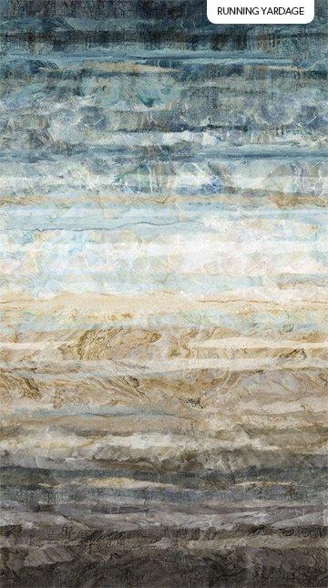 Wideback 108 - New Dawn Blue Multi 100% Cotton