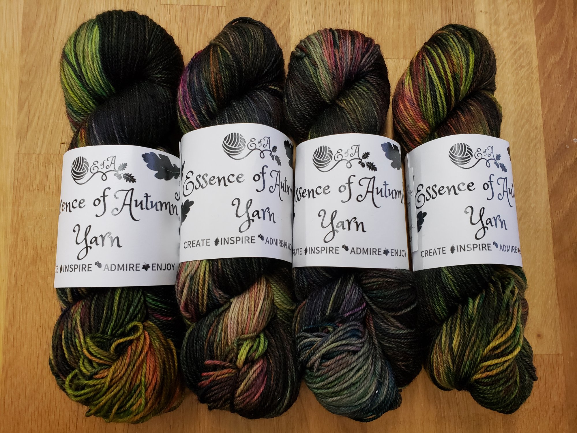 Prairie Sock by Essence of Autumn - 80% SW Merino/20% Nylon